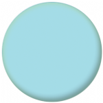 Plain Light Blue 58mm Fridge Magnet